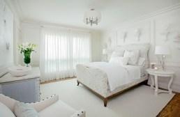 Sand dollar white on white bedroom