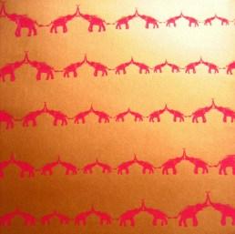 Elephant love wallpaper
