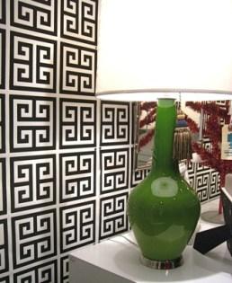 greek key wallpaper