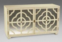 Quatrefoil pattern chest