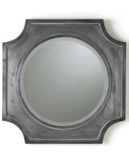 Popular quatrefoil mirror frame