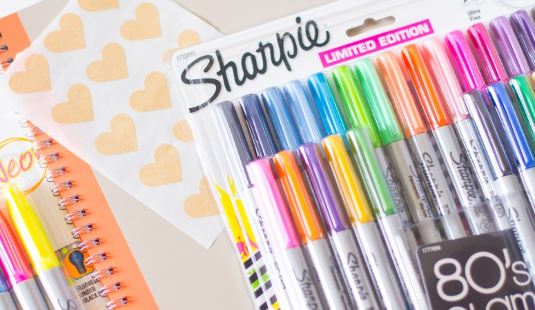 Back to School Planning with Sharpies