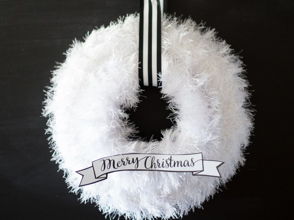 Simple Christmas Wreath - Just Destiny