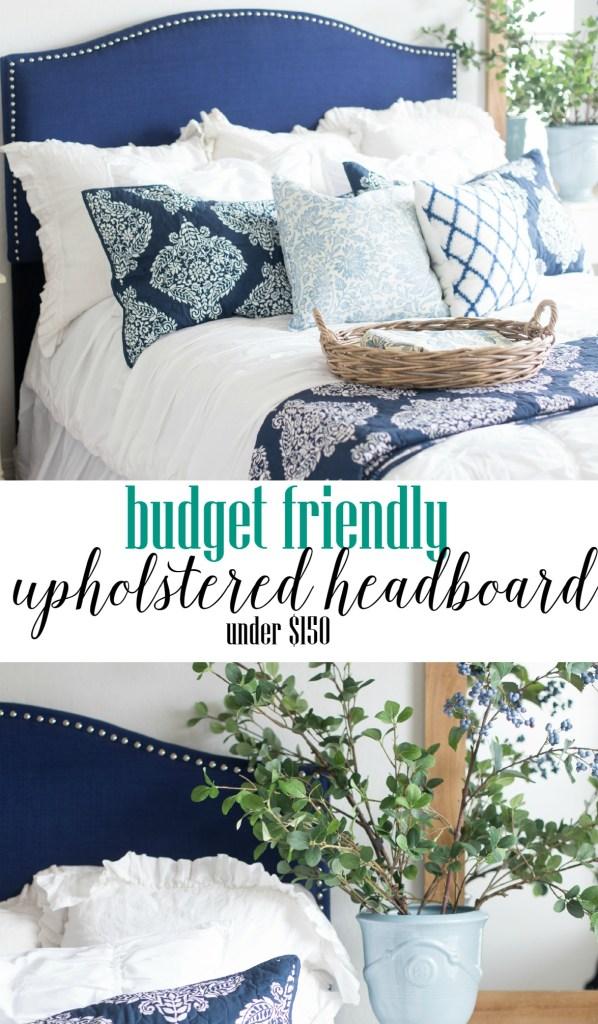 Affordable Upholstered Headboard