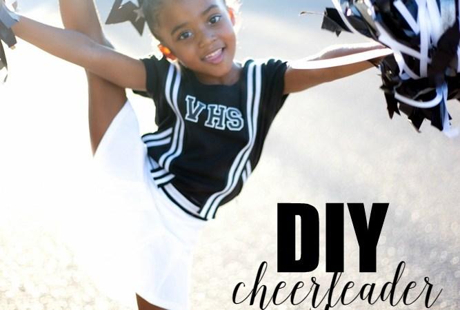 Simple DIY Cheerleader Costume