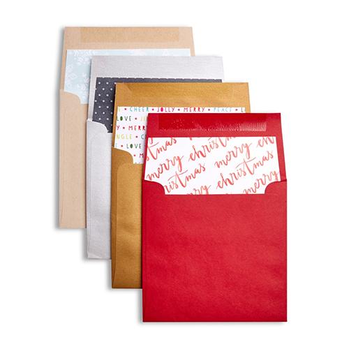 Merry Christmas Envelopes from Shutterfly