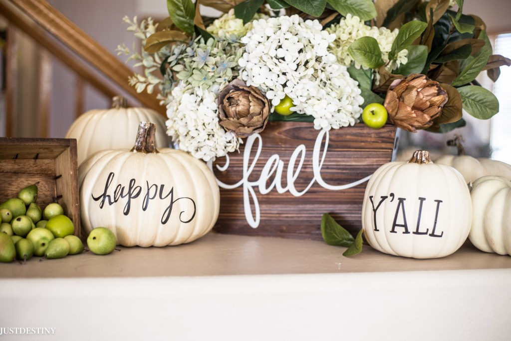 Easy Fall Decor with Just Destiny Mag-17
