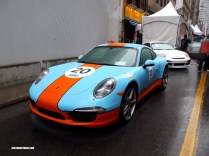 Gulf-coloured 991 Porsche 911
