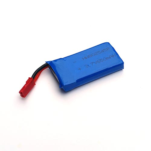 3.7V 650mAh Li-Po Battery for Drone Quadcopter