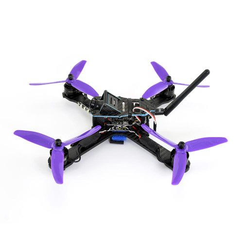 MRV Hell Yeh 250 FPV Racing Quadcopter Side View