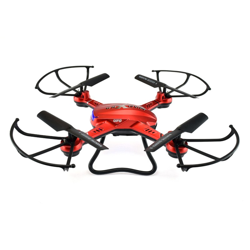 F181 Chaser Quadcopter - Side View