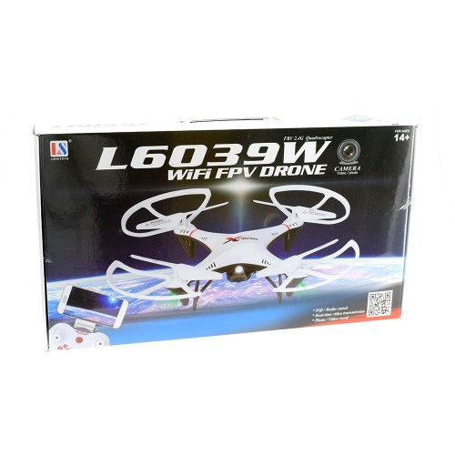 L6039W Wi-Fi FPV Quadcopter - Box