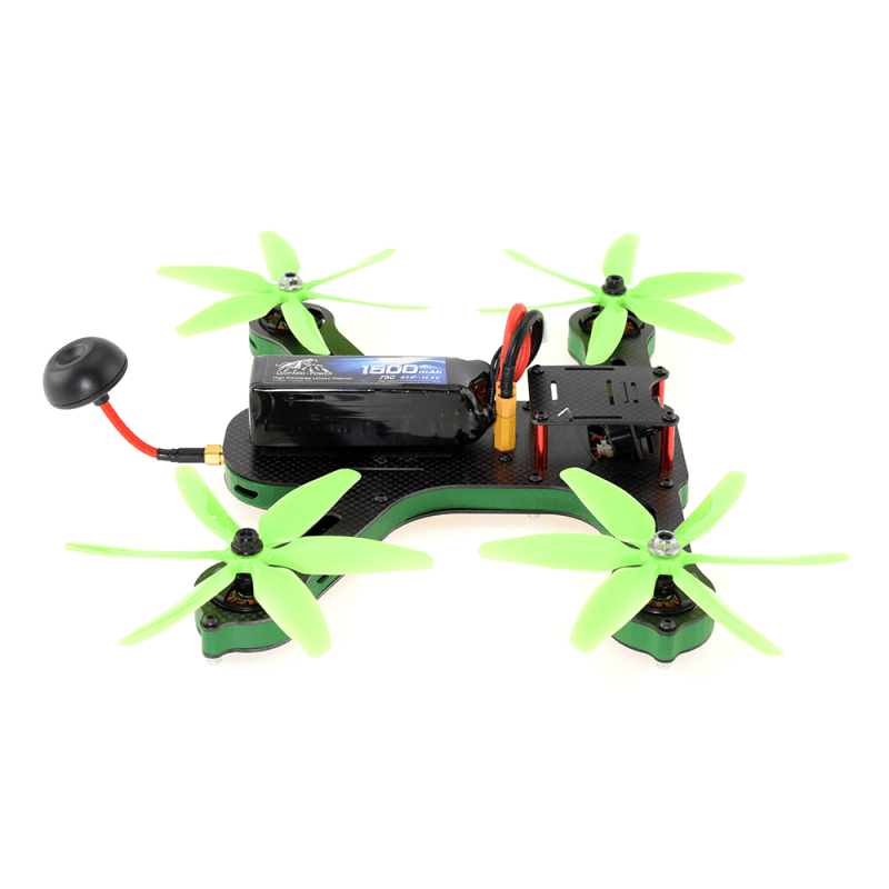 F250 5.8GHz FPV Racing Drone - Side View