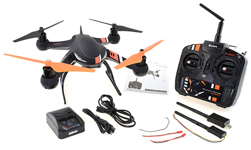 Eachine Pioneer e350 GPS Quadcopter - In the Box