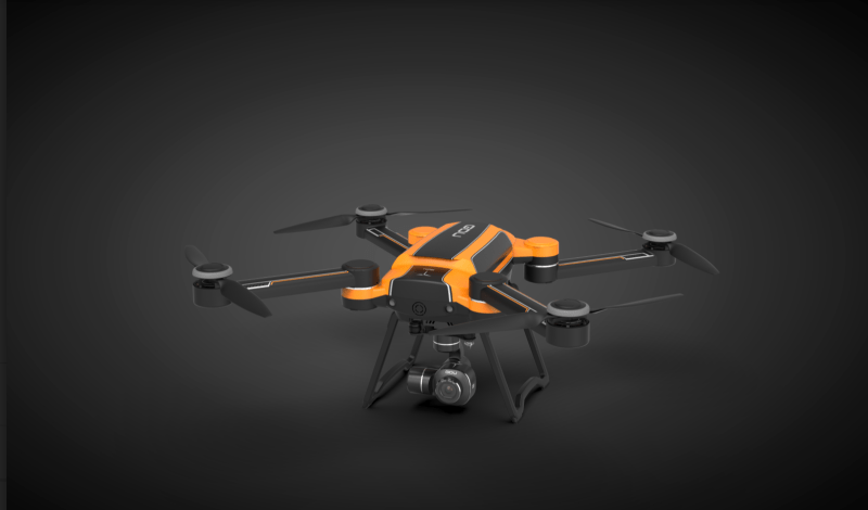 GDU Saga CES 2019 drone preview
