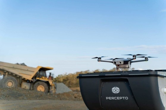 Percepto's drone in a box solution