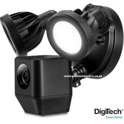 DigiTech Smart Floodlight Camera With Motion Sensor Audio