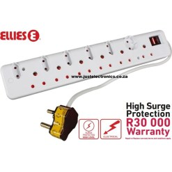 Ellies 12 Way Surge Safe Power Protector FBWP5