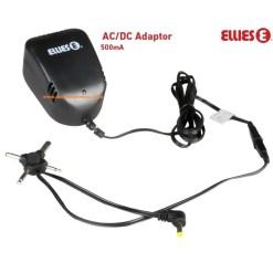 Ellies 500mA AC DC Adapter