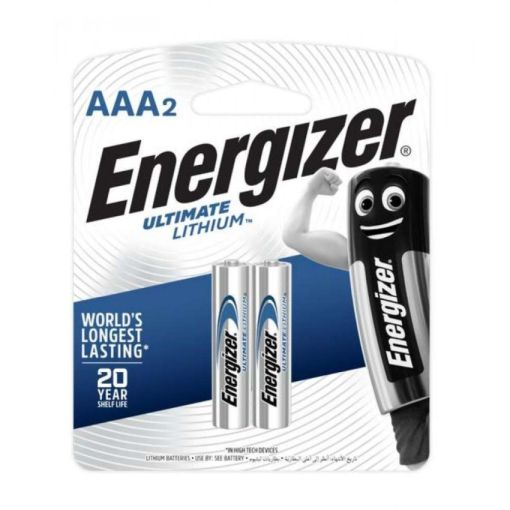 Energizer AAA Ultimate Lithium Pack of 2