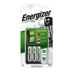 Energizer Maxi Charger 4AA 2000mAh Batteries