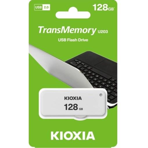 Kioxia 128GB TransMemory U203 Flash Drive LU203W128GG4