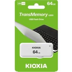 Kioxia 64GB TransMemory U203 Flash Drive LU203W064GG4