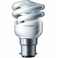 Philips Tornado 8W Warm White Energy Saver Bulb