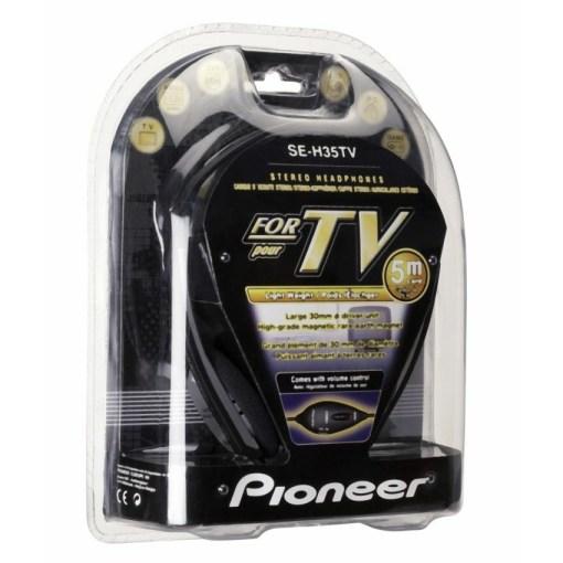 Pioneer Stereo TV Headphones With 5 Meter Cord