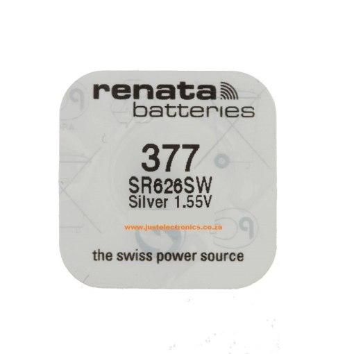 Renata 377 SR626SW 1.55V Watch Battery