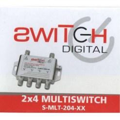 Switch Digital 2x4 Multiswitch S-MLT-204-XX