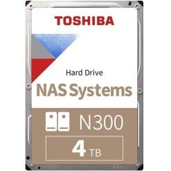 Toshiba 4TB 3.5inch NAS Hard Drive N300