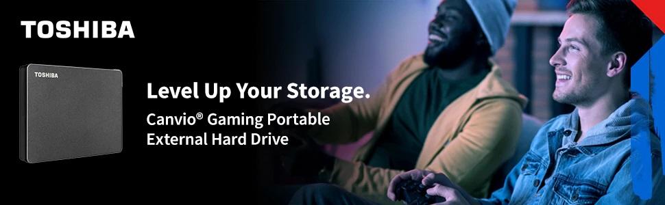 Toshiba Canvio Gaming Portable External Hard Drive