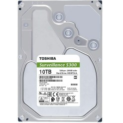 Toshiba S300 10TB 3.5 Inch Surveillance Hard Drive HDWT31A