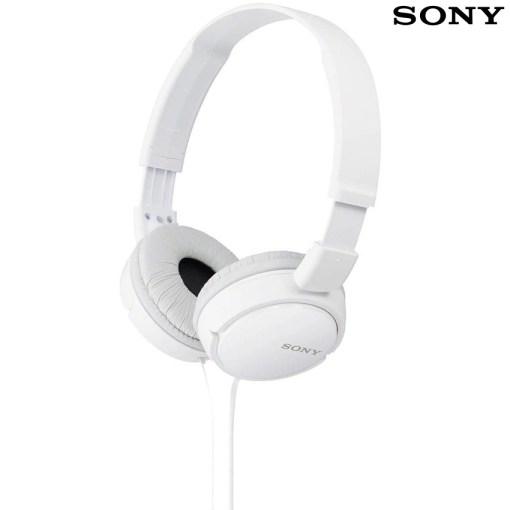 Sony MDR-ZX110 Stereo Headphones White