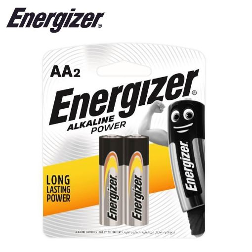 Energizer Alkaline Power AA Card of 2