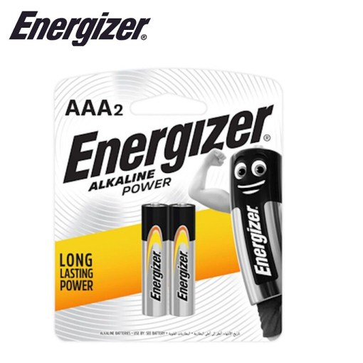 Energizer Alkaline Power AAA Card of 2