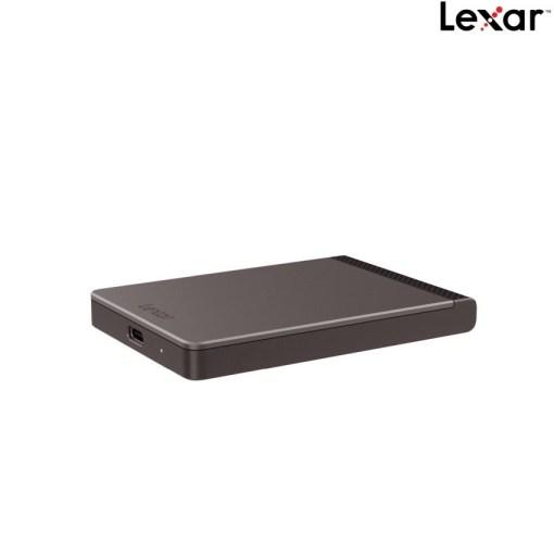 Lexar 512GB Portable SSD SL200 LSL200X512G-RNNNG Side