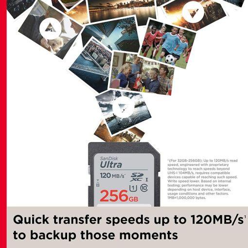 Sandisk Ultra 128GB SDXC UHS-I Card