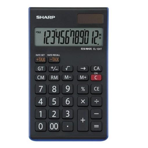 Sharp 12 Digit Calculator EL-124T