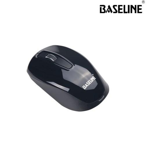 Baseline Wireless Optical Mouse Black