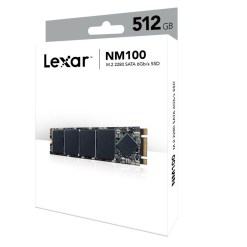 Lexar NM100 M.2 2280 512GB SSD LNM100-512RB