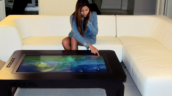 Multi-touch-table Mozayo M42-PRO girl
