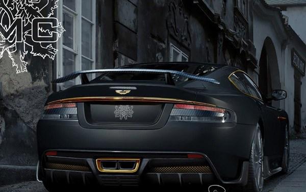 "Expensive tuning: ""Fakhuna"" Aston Martin DB-S"