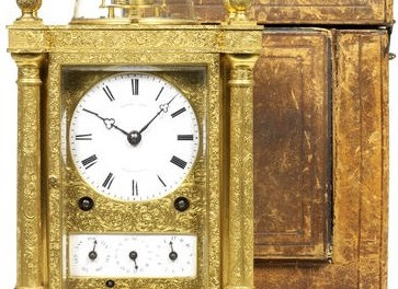 Auction: the clock that has not moved for 279 years