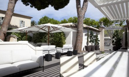 LMVH's White 1921 hotel in Saint Tropez