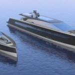 Two Hybrid Megayachts With Chic Designs