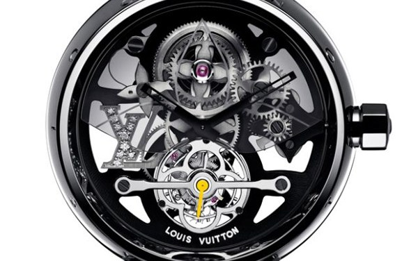 Tambour Monogram Tourbillon by Louis Vuitton
