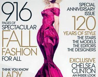 Vogue has record 916-page issue