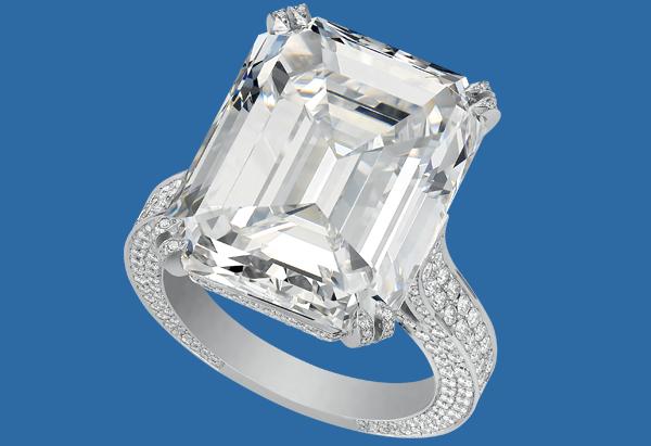 chopard A STUNNING DIAMOND RING